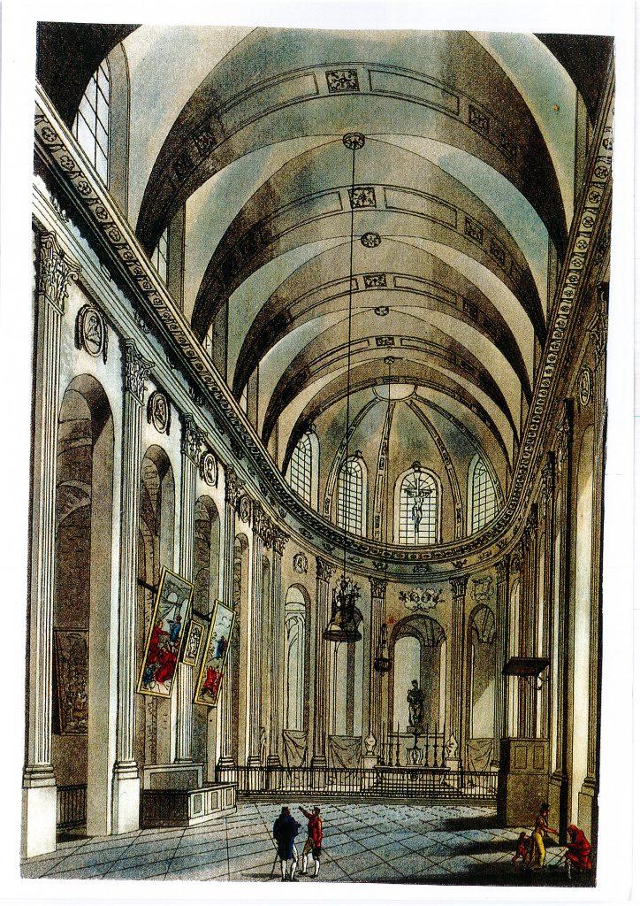 Eglise en 1808
