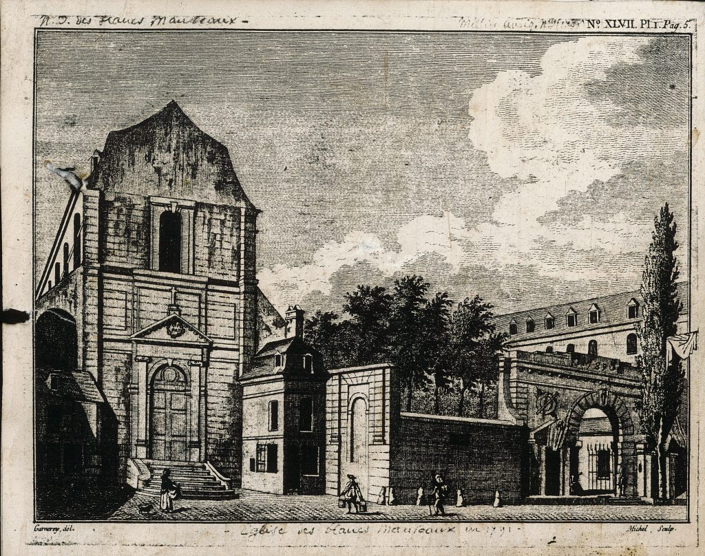 Façade église mauriste