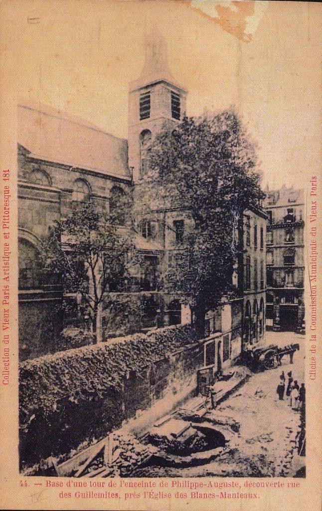 Fouille tour Philippe-Auguste