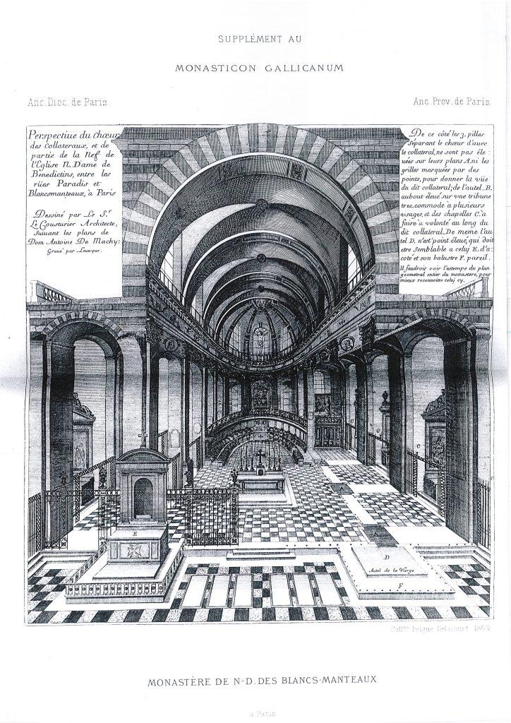 Intérieur église mauriste