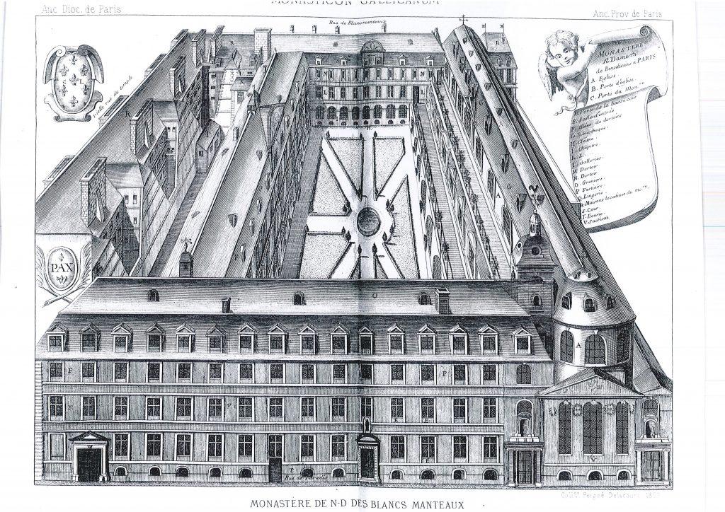 Monastère côté Francs-Bourgeois